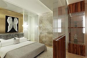Hotelový pokoj ve stylu Louvre