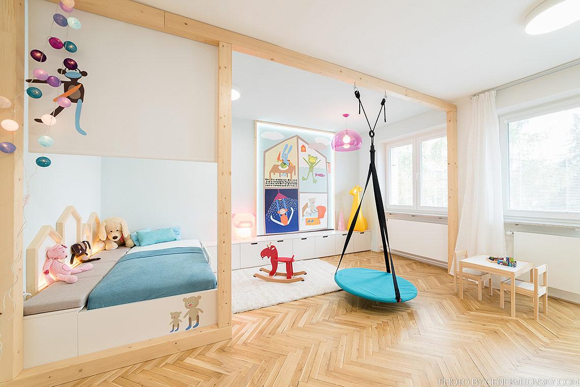 Dětský pokoj – rostoucí nábytek na míru pro předškolní dítě