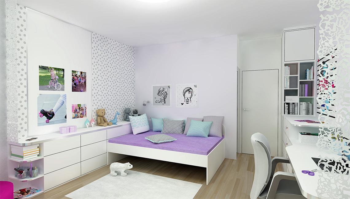 Pokojíček pro dívku