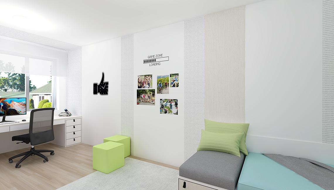 Dětský pokoj pro chlapce