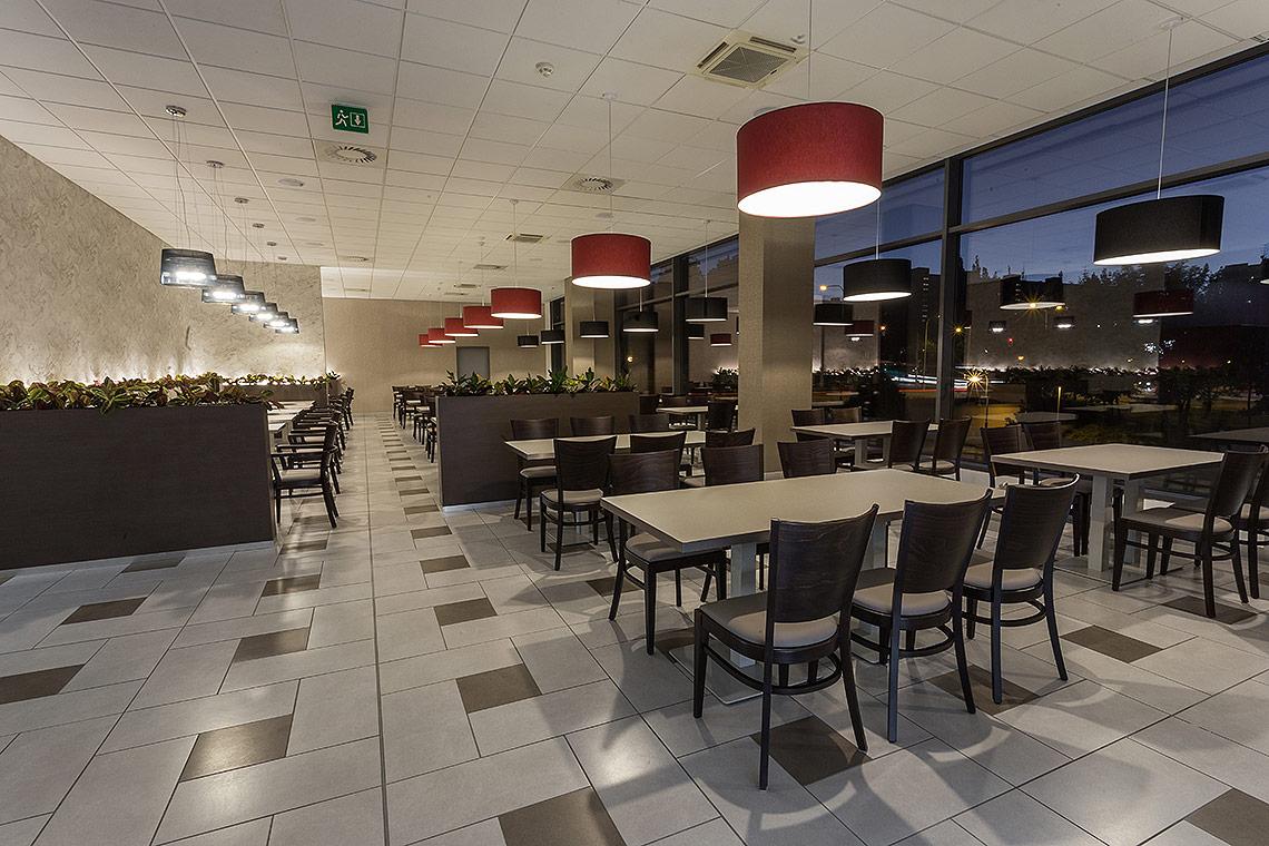 Komerční interiér – návrh restaurace